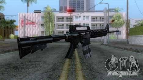 M4A1 Assault Rifle für GTA San Andreas dritten Screenshot