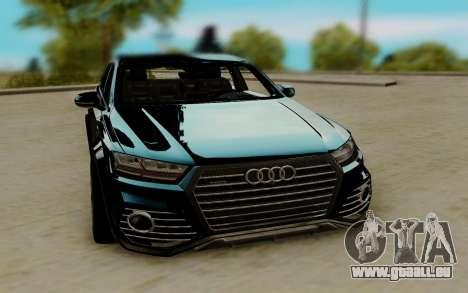 Audi QS7 ABT für GTA San Andreas
