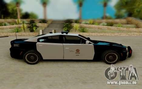 Dodge Charger SRT8 Hellcat 2015 pour GTA San Andreas laissé vue