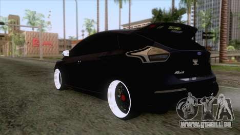 Ford Focus RS Hatchback 2017 für GTA San Andreas