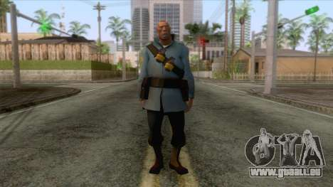 Team Fortress 2 - Soldier Skin v1 pour GTA San Andreas