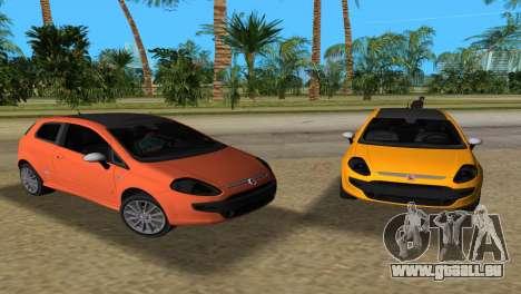 2010 Fiat Punto EVO Sport für GTA Vice City