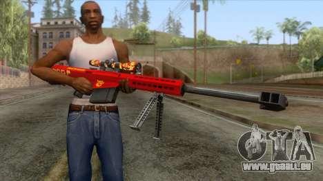 Barrett M82A1 Anti-Material Sniper Rifle v2 pour GTA San Andreas