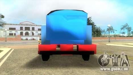 Thomas The Train pour une vue GTA Vice City de la gauche
