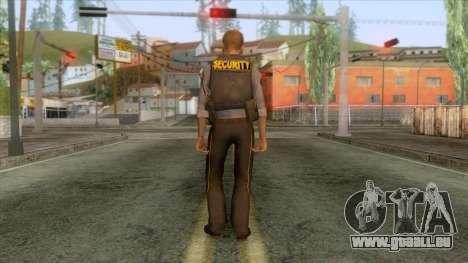 Black Mesa - Security Guard pour GTA San Andreas