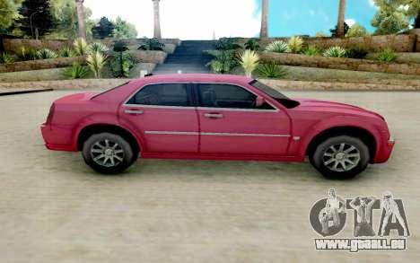 Chrysler 300C 2008 pour GTA San Andreas laissé vue