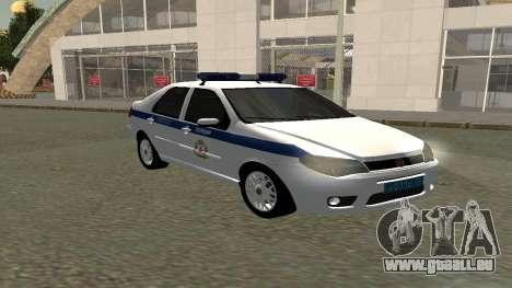 Fiat Albea ППСП V0.1 für GTA San Andreas rechten Ansicht