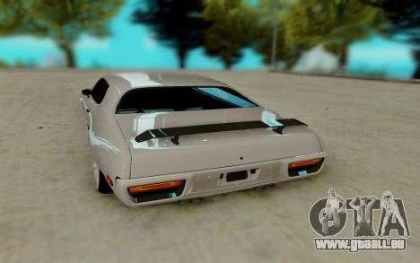 Plymouth GTX pour GTA San Andreas sur la vue arrière gauche