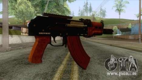 GTA 5 - Compact Rifle für GTA San Andreas zweiten Screenshot
