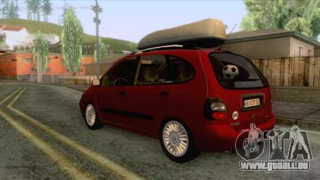 Renault Megane Scenic für GTA San Andreas rechten Ansicht