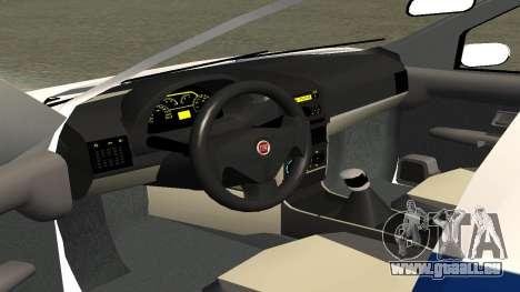 Fiat Albea ППСП V0.1 für GTA San Andreas Rückansicht