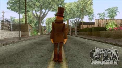 Prof Hershel Layton Skin für GTA San Andreas