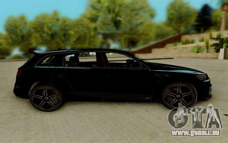 Audi QS7 ABT für GTA San Andreas linke Ansicht