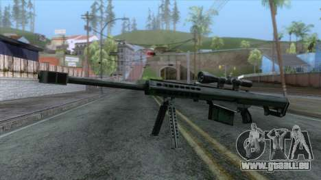 Barrett M82A1 Anti-Material Sniper Rifle v1 für GTA San Andreas