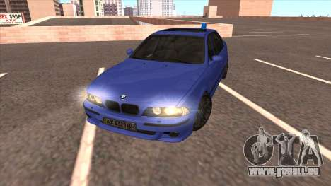 BMW E39 M5 pour GTA San Andreas