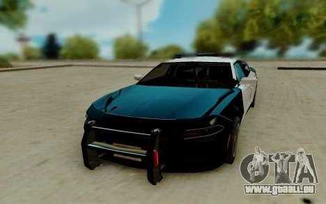 Dodge Charger SRT8 Hellcat 2015 pour GTA San Andreas vue arrière