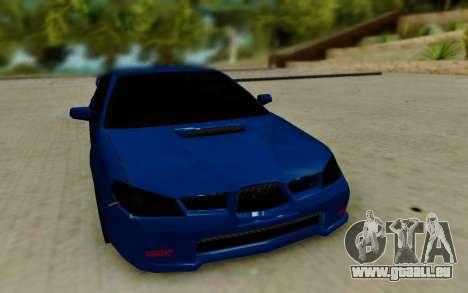 Subaru WRX STi 2005 pour GTA San Andreas vue arrière
