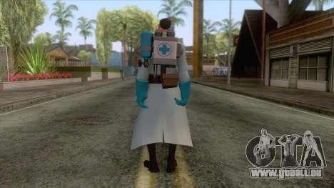 Team Fortress 2 - Medic Skin v1 pour GTA San Andreas