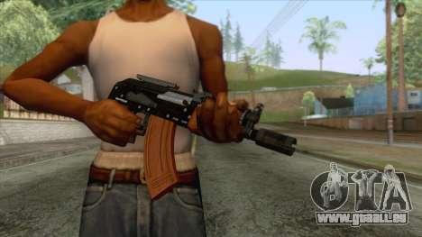 GTA 5 - Compact Rifle für GTA San Andreas dritten Screenshot