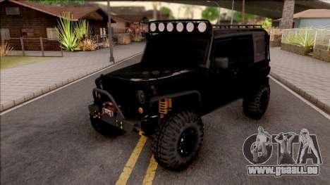Jeep Wrangler Rubicon Off-Road pour GTA San Andreas