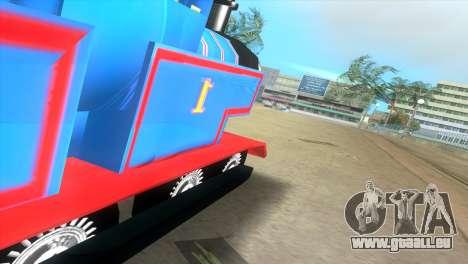 Thomas The Train pour une vue GTA Vice City de la droite