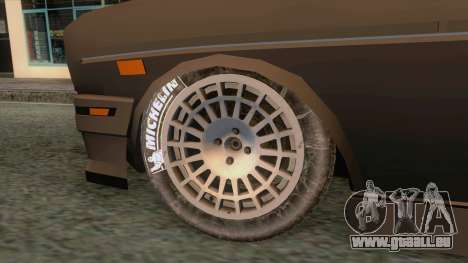 Tofas 131 Rallye v1 für GTA San Andreas Rückansicht