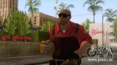 Team Fortress 2 - Engineer Skin v2 pour GTA San Andreas