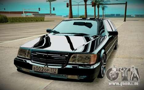 Mercedes-Benz W140 für GTA San Andreas