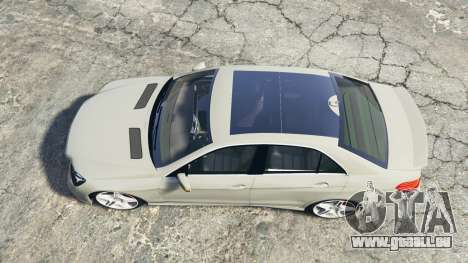 GTA 5 Mercedes-Benz E63 AMG (W212) 2013 [replace] Rückansicht