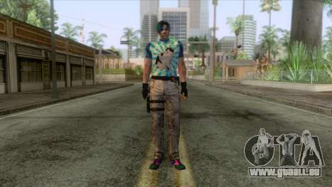 Leon Cat Lover Skin pour GTA San Andreas