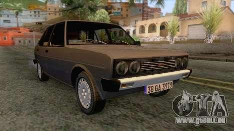 Tofas Murat 131 für GTA San Andreas
