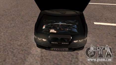 BMW E39 M5 pour GTA San Andreas vue de droite