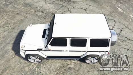 GTA 5 Mercedes-Benz G 65 AMG (W463) v1.1 [replace] Rückansicht