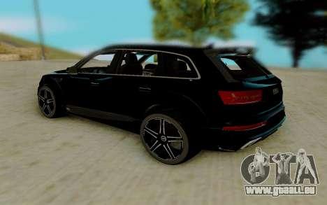 Audi QS7 ABT für GTA San Andreas rechten Ansicht