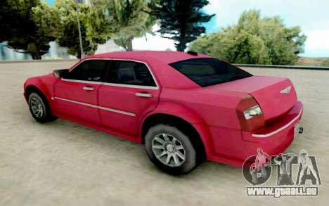 Chrysler 300C 2008 pour GTA San Andreas sur la vue arrière gauche