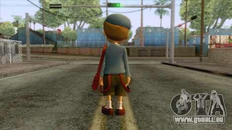 Prof Layton - Luke Triton Skin pour GTA San Andreas