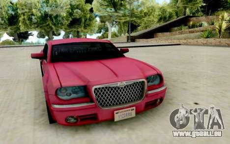 Chrysler 300C 2008 pour GTA San Andreas vue arrière