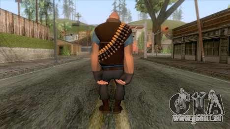 Team Fortress 2 - Heavy Skin v1 pour GTA San Andreas