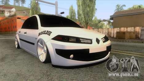 Renault Megane II Sedan pour GTA San Andreas