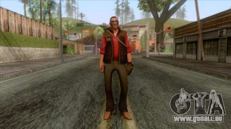 Team Fortress 2 - Sniper Skin v2 pour GTA San Andreas