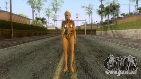Momiji Blonde Lace Skin pour GTA San Andreas