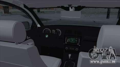 Skoda Octavia Scout pour GTA San Andreas sur la vue arrière gauche