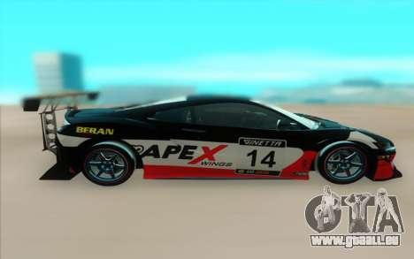 Honda NSX 2017 pour GTA San Andreas