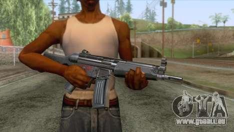 HK53 Assault Rifle für GTA San Andreas