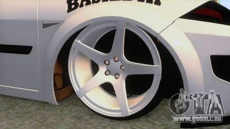 Renault Megane II Sedan pour GTA San Andreas vue arrière