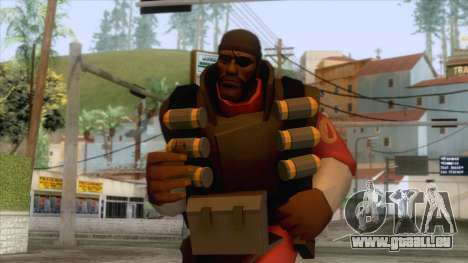 Team Fortress 2 - Demo Skin v2 für GTA San Andreas