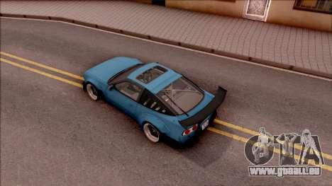 Nissan 180SX Rocket Bunny pour GTA San Andreas vue arrière