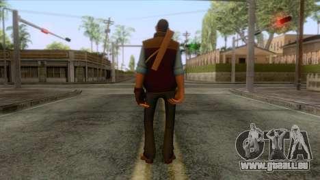 Team Fortress 2 - Sniper Skin v1 pour GTA San Andreas