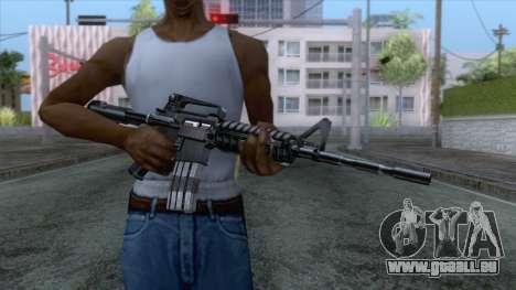 M4A1 Assault Rifle für GTA San Andreas