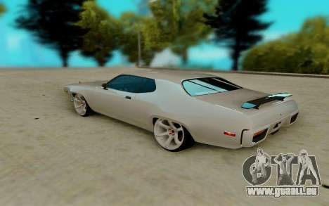 Plymouth GTX pour GTA San Andreas vue de droite